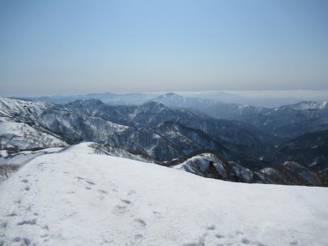 3月17日 荒島岳
