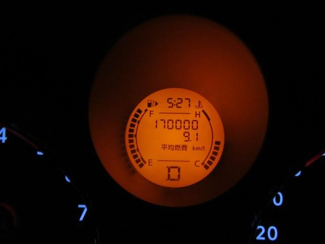 3月25日 エクストレイル17万km到達